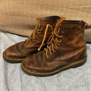 Rare Vintage Doc Martens Made In England Sz 8